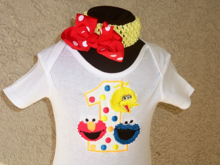 Personalized Elmo And Pals Birthday Shirt