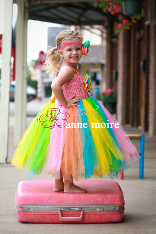 Candy Delight Flavor Of The Month Flower Girl Tutu Dress