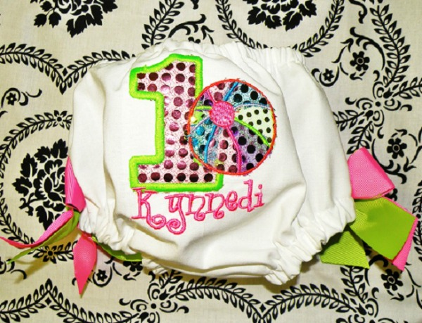 Personalized Sequin Beach Ball Bloomers
