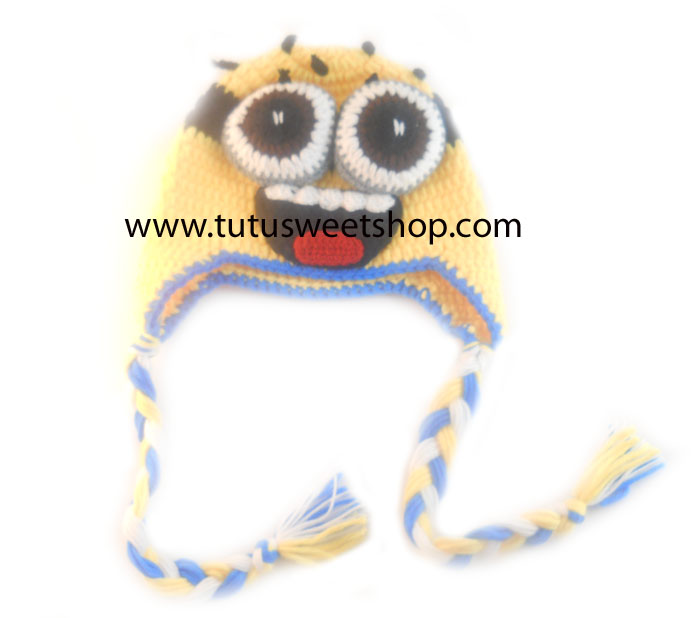 Despicable Me Inspired Minion Crochet Hats For Kids