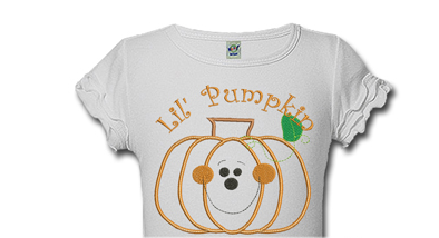 Personalized Lil Pumpkin Halloween Shirts For Kids