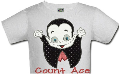 Personalized Count Dracula Halloween Shirts For Kids