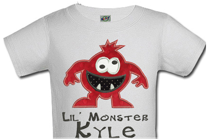 Personalized Lil Monster Halloween Shirts For Kids