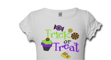 Personalized Trick or Treat Halloween Shirts For Kids