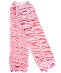 Pink Ruffled Girls Legwarmers