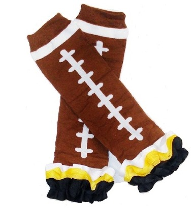 Pittsburgh Steelers Inspired Ruffled Legwarmers