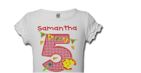 Picnic Party Personalized Kids Birthday Shirts