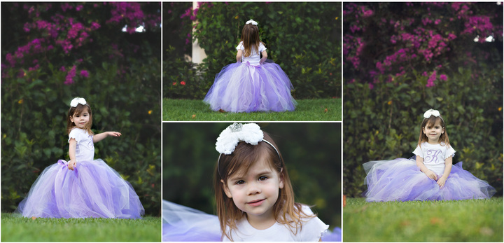 Monogrammed Princess Sophia Inspired Tutu Outfit