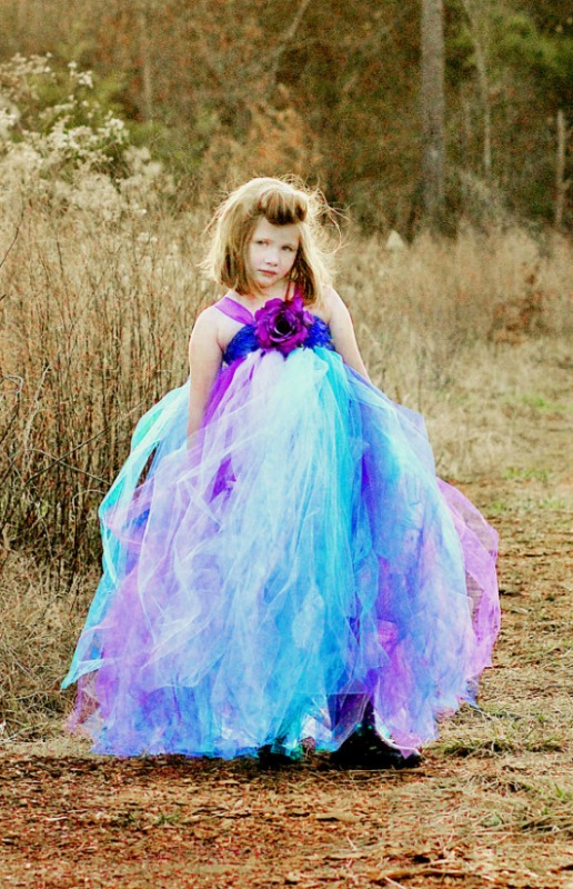 Purple Delight Tutu Dress