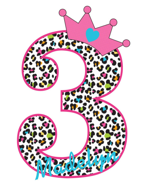 Rainbow Leopard Print Personalized Birthday Shirts