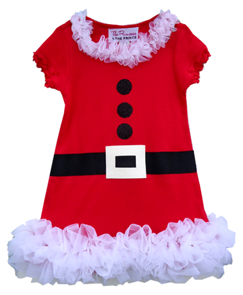 Girls Chirstmas Tutus Pettiskirts : Little Girls Christmas Dresses