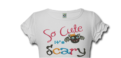 So Cute So Scary Halloween Shirts For Kids