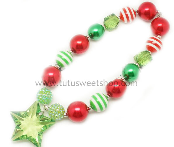 Wish Upon A Star Gumballs Chunky Beaded Girls Necklaces