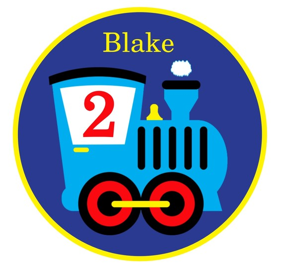 Personalized Train Boy Birthday Shirts