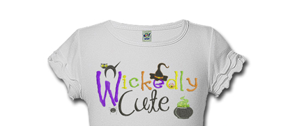 Personalized Wickedly Cute Halloween Shirts For Kids